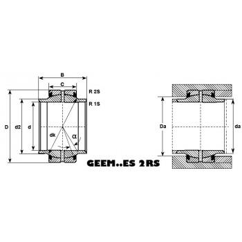 Rotule ref GEEM80ES-2RS