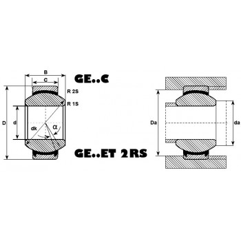 Rotule ref GEK22ESA-SKF