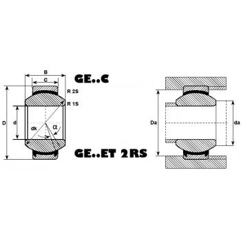 Rotule ref GEK20ESA-SKF
