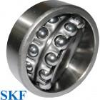 Roulement oscillant 2 rangées de billes SKF ref 1218-K-C3 - 90x160x30