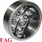 Roulement oscillant 2 rangées de billes FAG ref 1211-K-TVH-C3 - 55x100x21