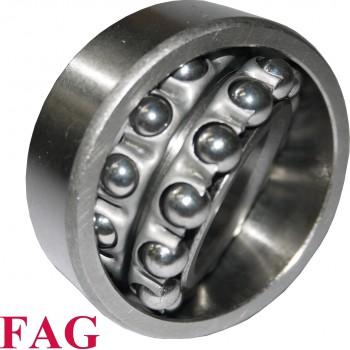 Roulement oscillant 2 rangées de billes FAG ref 1216-TVH-C3 - 80x140x26