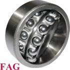 Roulement oscillant 2 rangées de billes FAG ref 1221-M - 105x190x36