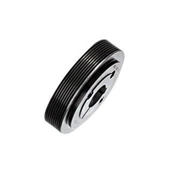 Poulie striée à moyeu amovible diamètre 77,5 mm, 8 gorges  ref : PST77.5PJ8MA