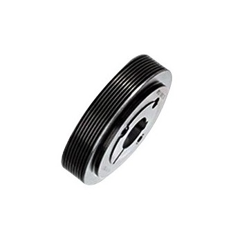 Poulie striée à moyeu amovible diamètre 62,5 mm, 16 gorges  ref : PST62.5PJ16MA