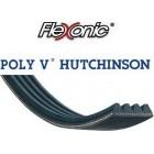 Courroie Hutchinson Flexonic 8PJ523 MAEL - Lg: 523mm - 8 sommets