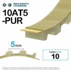 Courroie dentée ouverte ref 10AT5-PUR